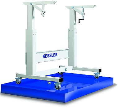 Kessler 2000, Industrial Workbenches, ergonomic height adjustable work station and sewing machine stands